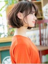 カバーヘア ブリス 北浦和西口店(COVER HAIR bliss)*bliss北浦和*重軽MIX!大人かわいいアシンメトリーボブa
