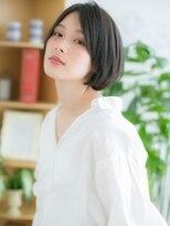 ココデサロン ハナレ 浅草(cocode salon HANARE)【浅草美容院HANARE】ダークアッシュ×ク-ルミニボブb