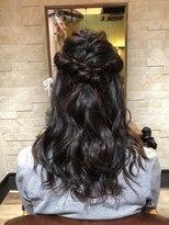 アイビーヘアー(IVY Hair)ハーフアップ