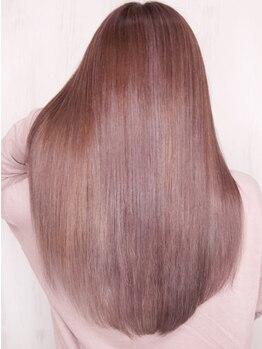 ソース 茶屋町(SOURCE)の写真/【サイエンスアクアinカラー+カット+リファンデTr¥9500】話題の髪質改善サイエンスアクアで美髪チャージ♪