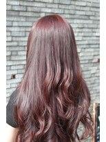 ヘアーデザイン キャンパス(hair design Campus)【イルミナRカラー】濃密☆チェリーピンク
