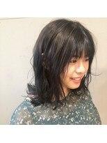 アルマヘアー(Alma hair by murasaki)ナチュラルセミロング