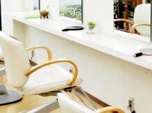 美容室 ボア・メゾンの雰囲気(マイナスイオンによる癒し空間でリラックス♪)