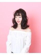 ヘアー ドルチェ(hair Dolce)やわらかウエーブ∴透け感グレージュ