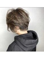 ソース ヘア アトリエ 京橋(Source hair atelier)【SOURCE】エアリーハンサムショート