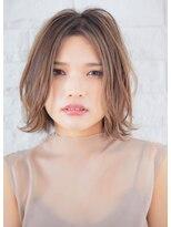 リル ヘアーデザイン(Rire hair design)【Rire-リル銀座-】アンニュイ☆ふんわりボブ