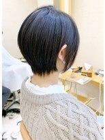 【morio札幌】2021年髪型大人かわいい黒髪ショートボブ
