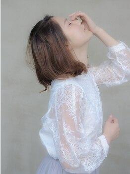 ドレス ヘアーアンドメイク(DRESS hair&make)の写真/季節を意識したトレンドカラーで旬なあなたに♪透明感の高い潤う艶髪は『DRESS』のカラーで叶います☆