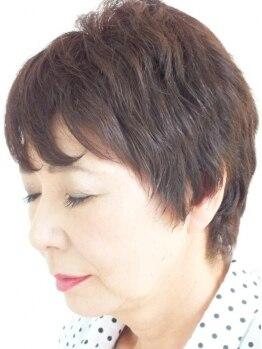 ヘアーアンドアイラッシュサロン ニコ(hair&eyelash salon nico)の写真/【リタッチカラー+シルクまつ毛エクステ付け放題7700円】大人気のヘア&まつ毛メニュー☆白髪染めもOK♪