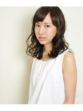 ヘアデザイン エソラ(hair design esora)伸ばしかけヘアにオススメ☆カールセミディ