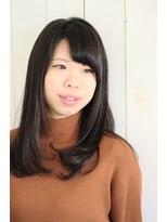 カロン(CA-LON)【艶髪シリーズ】艶めくストレートスタイル