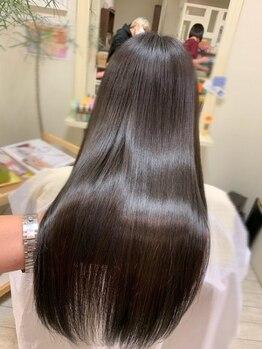 ヘアーデザイン エアージーモ(Hair design Air G mo)の写真/Air G moの髪質改善メニューで美髪を手に入れて★艶がない、ぱさつき、広がり、量が多い等のお悩みを解消◎