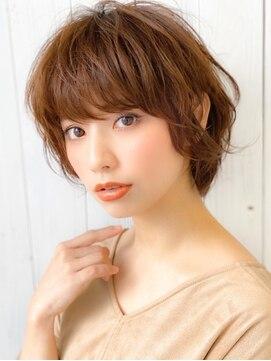 アグ ヘアー ティアラ 泉中央店(Agu hair tiara)《Agu hair》大人かわいい無造作マニッシュショート