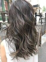 ギフヘアー 梅田茶屋町店(gif.hair)★フェザーロング×クラシカルハイライト×ラフウェーブ