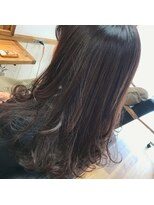 モイヘアーデザイン(moi hair design)ワインレッドブラウン