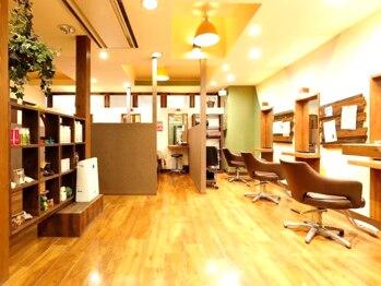 エッジアイラッシュ 蕨店(edge eye lash)の写真/上質空間&女性Stylist多数でお客様をあたたかくお迎えします!edge eye lashで心地よいサロンタイムを♪