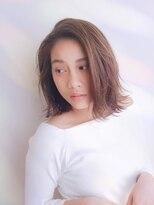 ムーン(moon)艶髪☆ 大人カジュアル切りっぱなしボブ