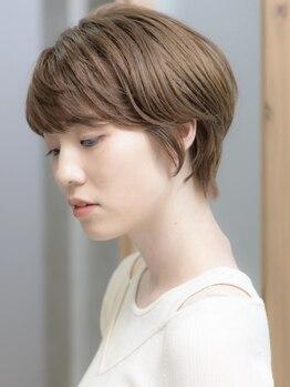 ヘアアンドケア エジェリラボ(hair&care egerie lab)の写真/【高崎】シルエットが綺麗な大人上品ショート/ボブが◎髪質・骨格を活かすCutで360度どこから見ても美しく*