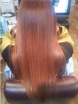 美容室 髪物語の写真/縮毛矯正専門店ならではの美髪再生技術を体験!ダメージヘアでも理想のつや髪に導いてくれる…