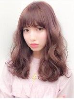 シマ シックス ギンザ(SHIMA SIX GINZA)cherry pink × fluffy long