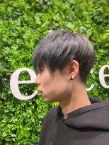 ヘアーアンドメイク ピース(HAIR&MAKE peace)韓国風マッシュ×シルバー