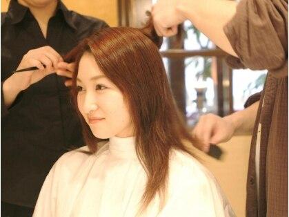 美容室 髪物語の写真