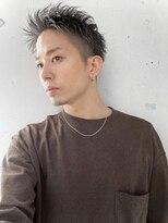 アイリーヘアデザイン(IRIE HAIR DESIGN)【IRIE HAIR赤坂】アップバング×ジェットモヒカン×ツーブロ