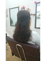 ヘアサロン シュシュ(Hair salon Chou chou)ウェーブヘアー