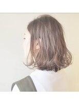 アルシュ サイト(ARCHE saito)ミディアムボブベージュ