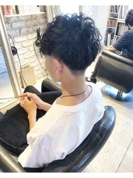 ヘアー アトリエ エゴン(hair atelier EGON)刈り上げパーマ