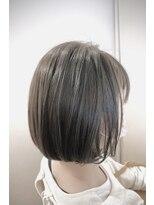 ローグヘアー 板橋AEON店(Rogue HAIR)【大人可愛いインナーカラー】ワンカールが可愛いボブスタイル