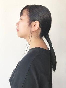アネージ(unage)の写真/【ミネコラトリートメント導入!】水素のチカラで内側から髪が潤い、ツヤさらな仕上がりが叶う♪