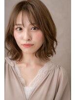 □シースルー前髪くびれミディアムウルフ116★越谷20代30代40代