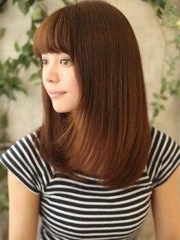 ヘアーメイク ボノ 調布(HAIR MAKE BONO)の写真/カラーを繰り返すほどに美髪が持続★「使えば使うほど髪がキレイになる。」話題のR(アール)カラー取扱い♪