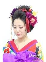 ヘアセットサロン パスクア(Hair Set Salon Pasqua)花魁風スタイル
