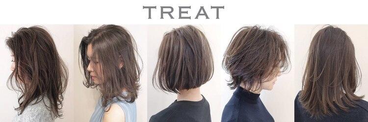 トリート ヘアデザイン 妙典店(TREAT HAIR DESIGN)のサロンヘッダー