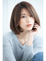 リル ヘアーデザイン(Rire hair design)【Rire-リル銀座-】シースルーなひし形シルエット☆