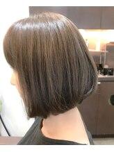 グリームス ヘアデザイン(GLEAMS Hair Design)楽々上品大人ボブ★チーフ