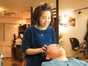ボンズ ヘアー(Bonds hair)の写真/【下祇園】特別なケアで頭皮からキレイに。リラックスしながら頭皮ケア。短時間で頭皮から健康な髪に。