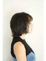 ジュール 銀座 ヘアラウンジ(Joule Hair Lounge)セピアグレージュ×ゆるふわボブ[銀座]