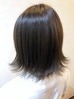 ヘアー リラクゼーション アンヴィ(Hair Relaxation anvi)切りっぱなし外ハネボブ