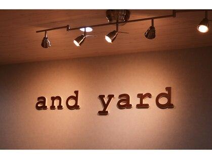 アンドヤード(and yard)の写真