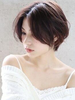 ヘアアンドメイク シークネクスト(HAIR&MAKE SeeK NEXT)の写真/立川駅南口1分◆おしゃれでエイジレスな仕上がりの白髪染め♪Aujuaケアで上質なツヤと質感に。色持ちも◎
