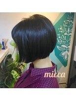 ミッカ(micca)【micca下北沢/江原】オトナ可愛い・襟足くびれミニマムボブ☆