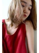 ミドヘアー (mid hair)girl×natural【medium】2