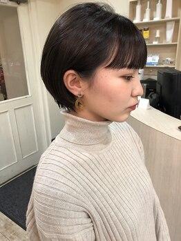 ヘア クレール(hair CREER)の写真/技術があるからお任せできる!!栄の某有名店で11年活躍した経歴を持つオーナーのカット技術を、八事で体感☆