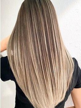 ラフィス ヘアーフラム 難波戎橋2号店(La fith hair flamme)の写真/【9:00-22:00☆マルイ10秒】TOKIOトリ-トメントで髪質改善◎髪の内側からダメージケアで憧れの美髪に…♪