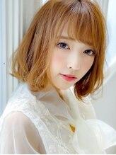 アグ ヘアー トレンチ 稲沢店(Agu hair trench)《Agu hair》小顔かわいいほつれウェーブボブ