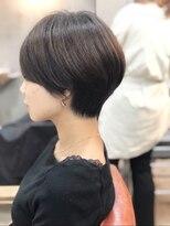 エトネ ヘアーサロン 仙台駅前(eTONe hair salon)シルエットショートボブ