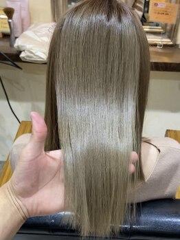 マグノリア(magnolia)の写真/【SNSで話題!ブリーチ毛にもかけれる縮毛矯正¥15400】ダメージ大幅カットで髪の傷みにお悩みの方にも◎